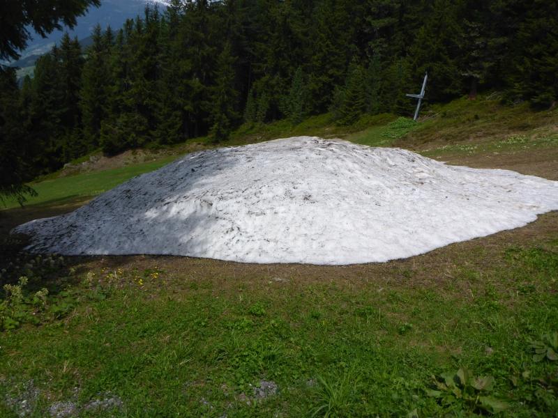 Schnee im Zillertal